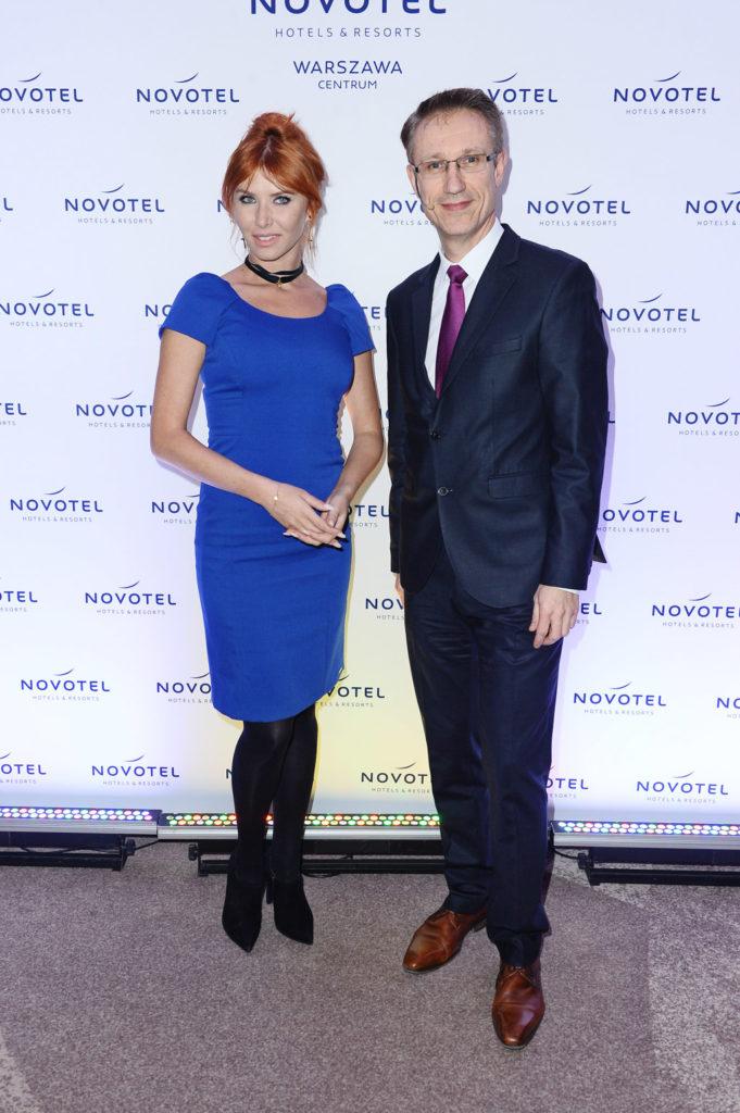 Agata Załęcka + Vincent Dujardin, Dyrektor Generalny Novotel Warszawa Centrum
