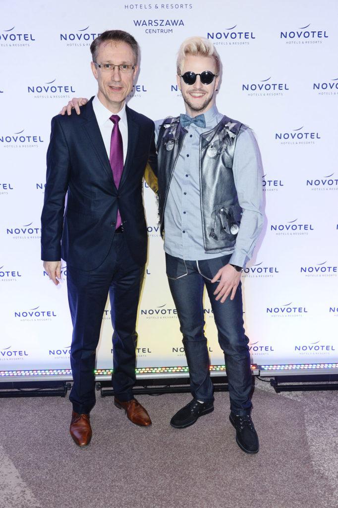 Ian Rooth + Vincent Dujardin, Dyrektor Generalny Novotel Warszawa Centrum