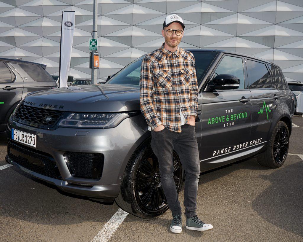 The Above & Beyond Tour - impreza promocyjna marki Land Rover